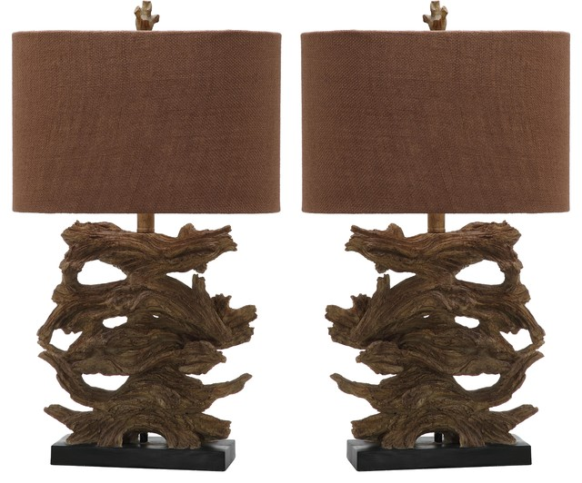 Safavieh forester high table lamp rustic for 10 inch high table