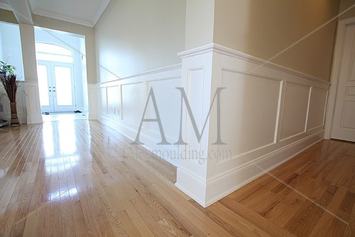 Wainscoting Diy Can Done With Mdf Or Wood Panels? - Wood Panel Wainscoting WB Designs