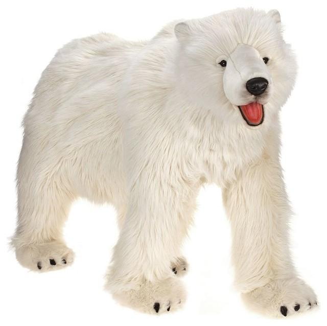 Life Size Polar Bear Stuffed Animal
