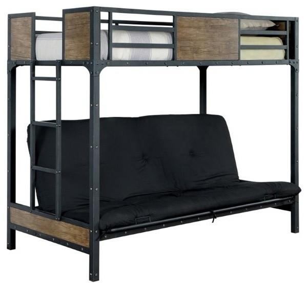 Sofá Clapton: Furniture Of America Clapton Loft Bed With Futon Mattress