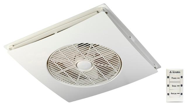 Model Drop Ceiling Tile Fan With Wall Control.
