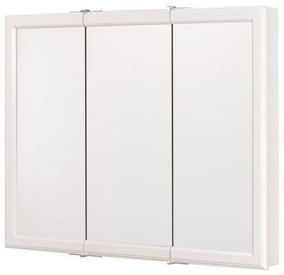 """White Triview Medicine Cabinet 36""""."""