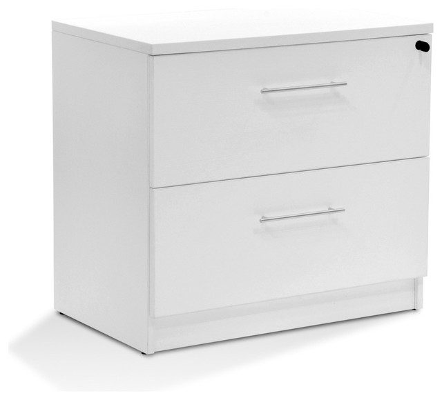 100 Series Lateral File White.