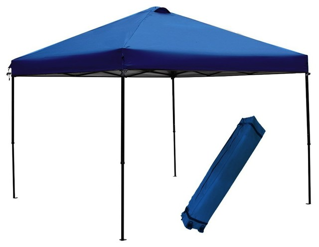 Abba Patio 10x10&x27; Outdoor Shade Folding Canopy With Roller Bag.