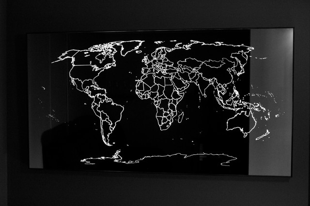 World map light mirror 1600mm w x 800mm h modern sydney by world map light mirror 1600mm w x 800mm h modern gumiabroncs Choice Image