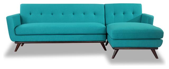 Kardiel Jackie Mid-Century Modern Sectional Sofa - Midcentury ...