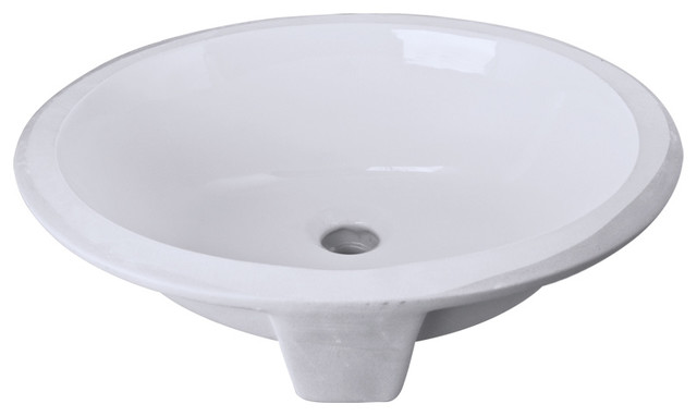Poria Sink, White, 15.