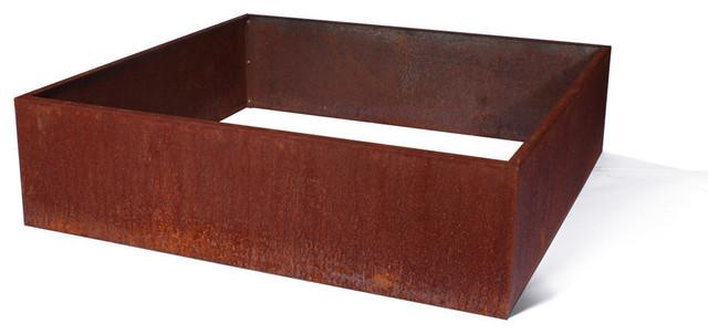 Metallic Series Corten Steel Raised Garden Bed