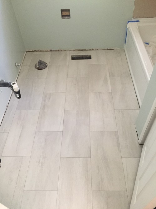 White Floor Tiles With Grey Grout Images Modern Flooring Pattern