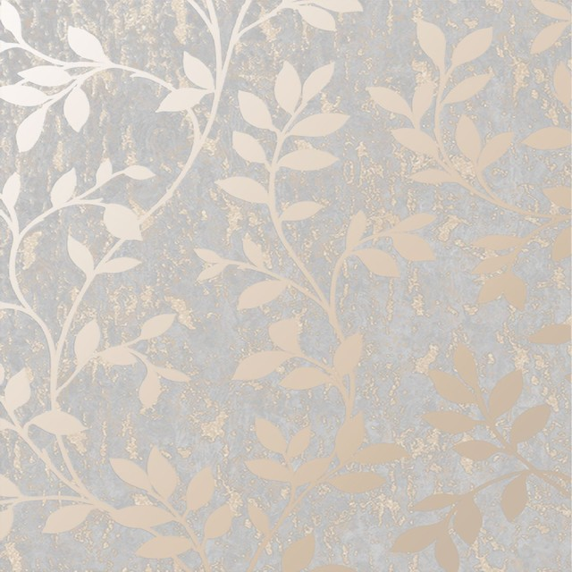 Superfresco Easy Rose Gold Milan Trail Floral Wallpaper, Roll