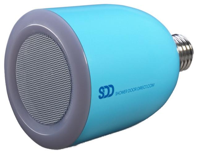 Bulbtunes LED Light Bulb With Bluetooth Speaker, Blue