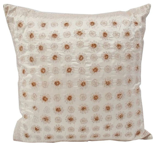 Decorative Pillows Retail : Anke Dreschel Ivory Pillow - $250 Est. Retail - $149 on Chairish.com