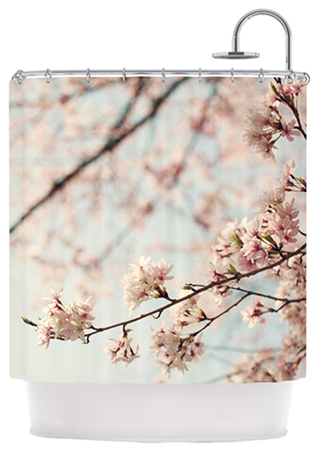 Shower Curtains cherry blossom shower curtains : Catherine McDonald