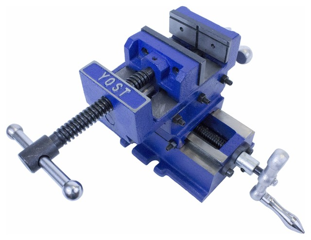 Yost Heavy Duty Cross Slide Vise, 3.