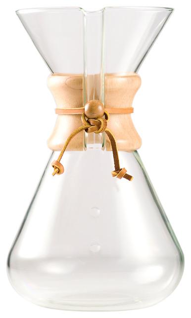 Modern Glass Coffee Maker : Handblown Coffeemaker - Contemporary - Coffee Makers - by BIGkitchen