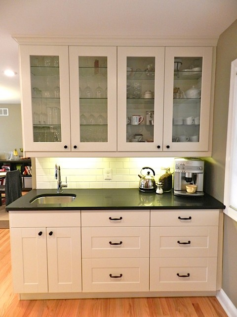 Ikea adel white in princeton nj traditional new york for Adel kitchen cabinets ikea
