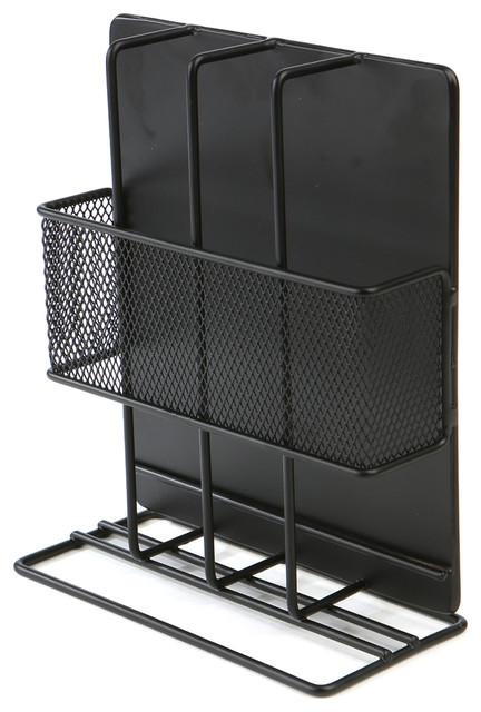 Freestanding Nespresso Box Holder, Black.