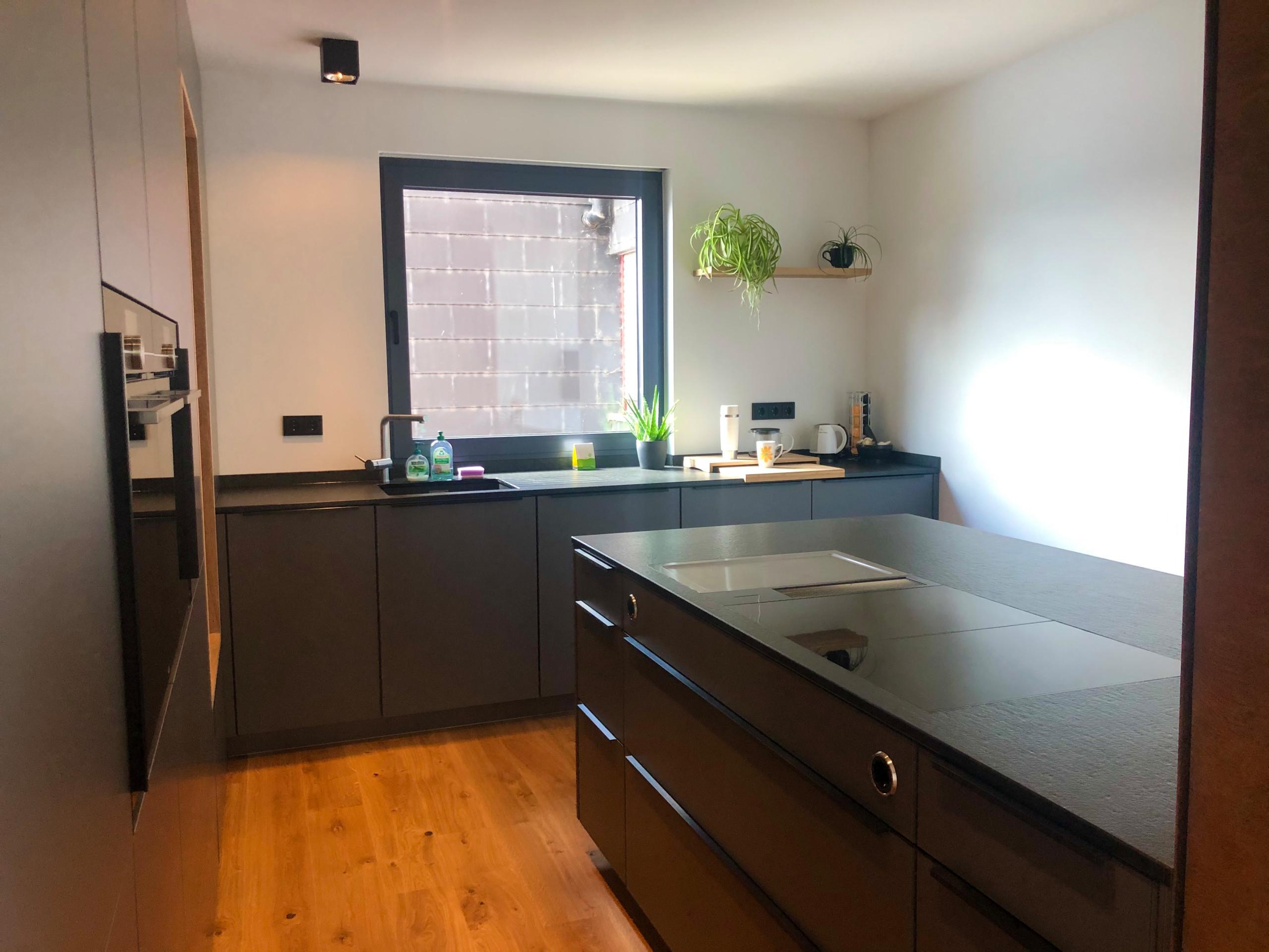 offene Küche im Wohnbereich | Project Siico