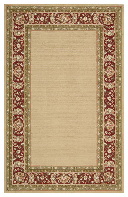 Nourison Country Heritage H801 Gold 2&x27;3 X 8&x27; Rug.