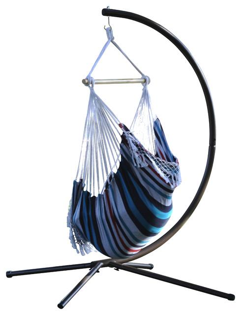 Lovely Brazilian Hammock Chair, Denim