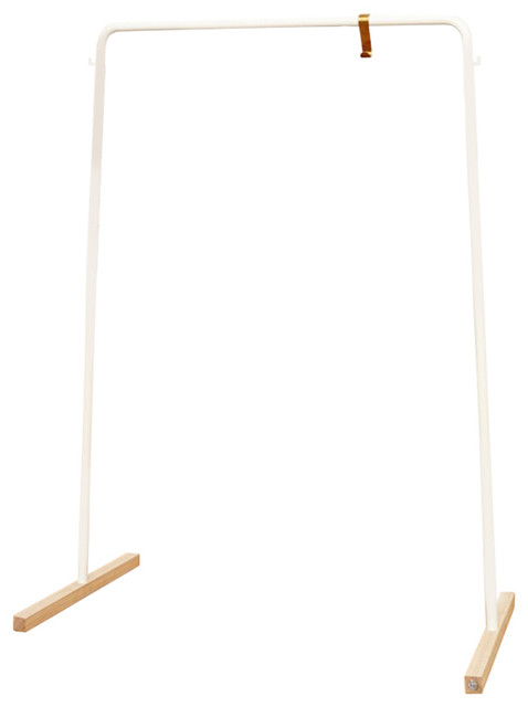 Neuvonfrisch Hank Clothing Hanger, White.