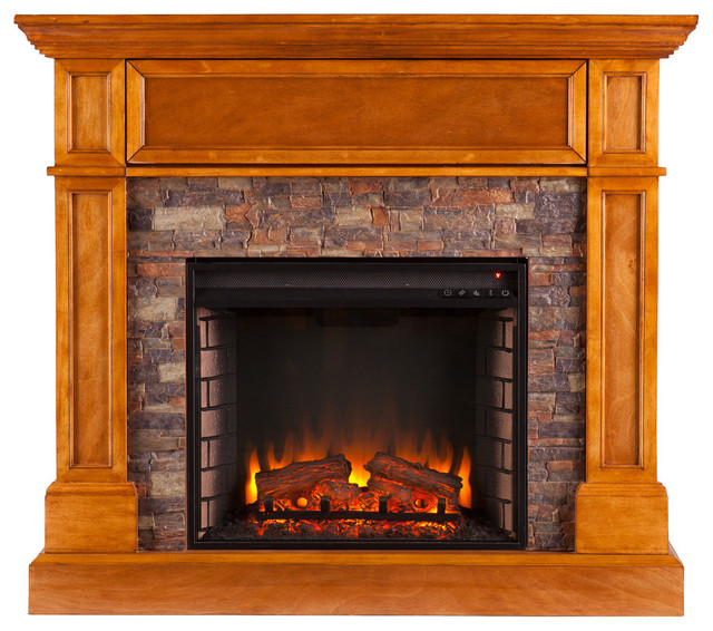 conlyn convertible electric media fireplace indoor