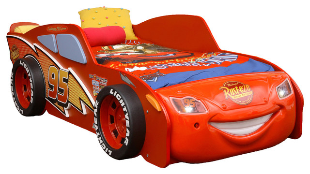 Cars Toddler Bed Set: Eco Friendly Disney Cars Lightning McQueen Toddler Bed