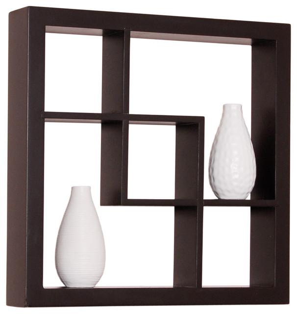 Madison Display Shelf Cube Shelving 16 Inch X 16 Inch X 3
