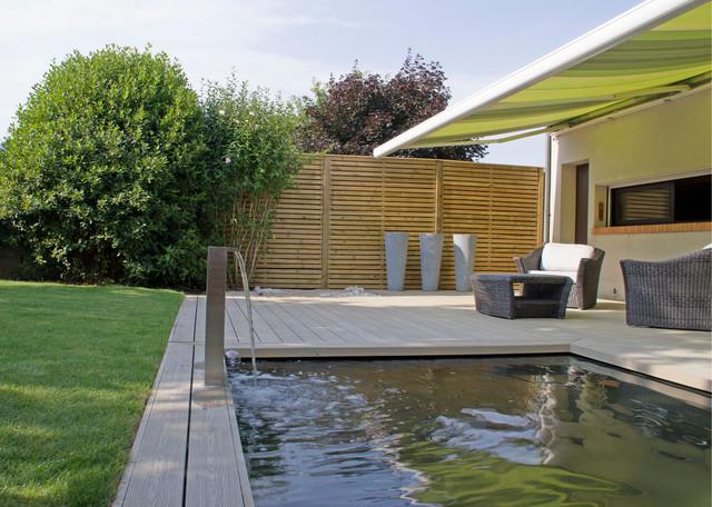 jardin moderne. Black Bedroom Furniture Sets. Home Design Ideas