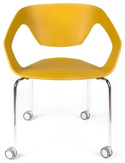 Ezra Roller Chair   Contemporary   Office Chairs   By Dehelvi Living