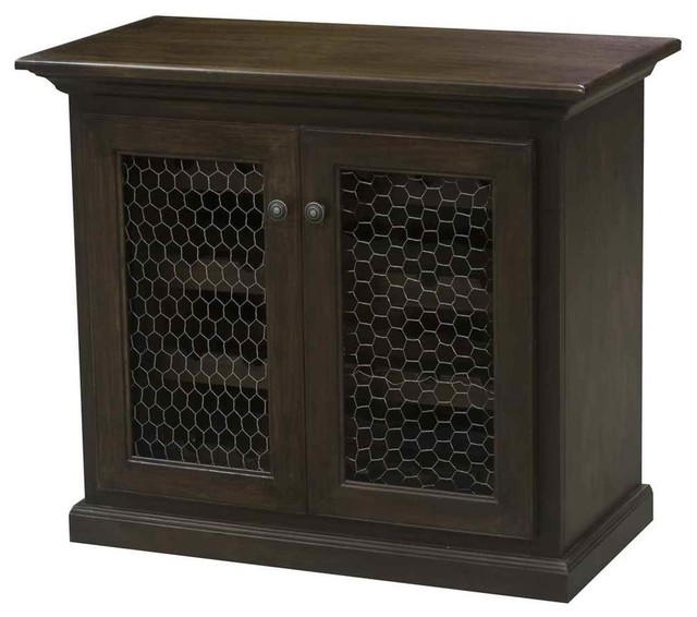24-Bottle Wine Cabinet, Caribbean Rum - Wine And Bar Cabinets - by ...