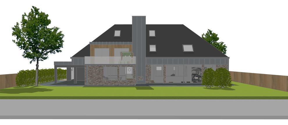 Visualisierung einer Sanierung Bild III