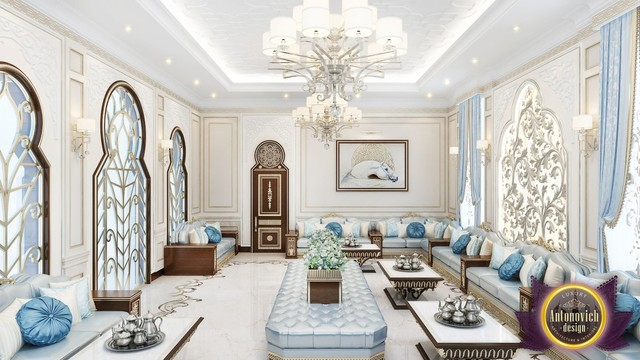 Living Room Design Ideas In Arabic Style From Katrina Antonovich Other By Luxury Antonovich