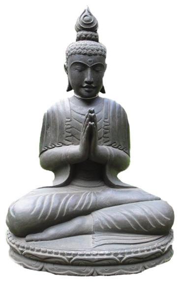 Praying Thai Garden Buddha Statue Asian Garden Statues