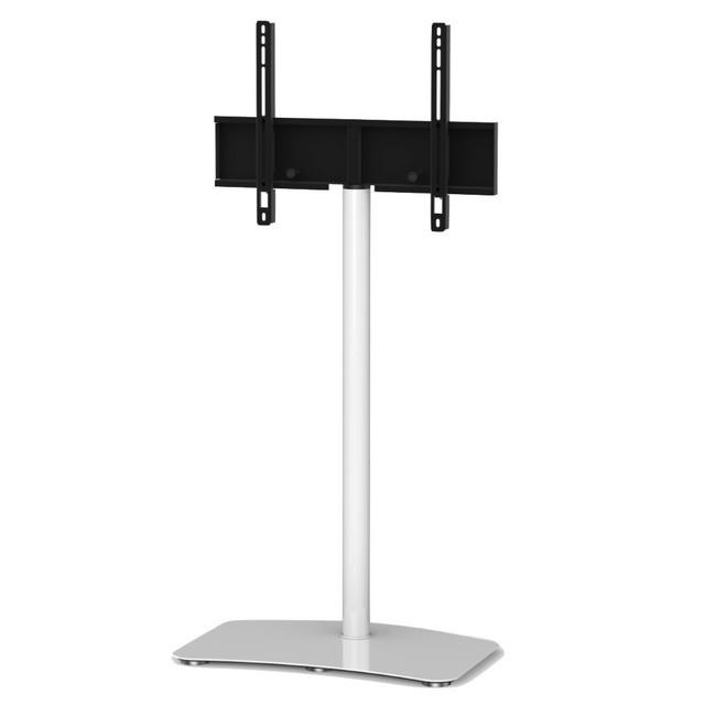 Pl 2800 Modern Tv Floor Stand Steel Construction White