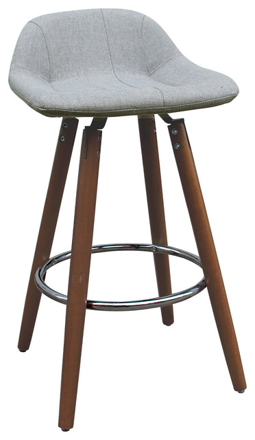 Admirable 26 Wood Base Counter Stool Set Of 2 Gmtry Best Dining Table And Chair Ideas Images Gmtryco