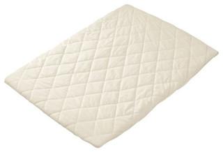 Baby Doll Bedding White Cradle Mattress 15X33
