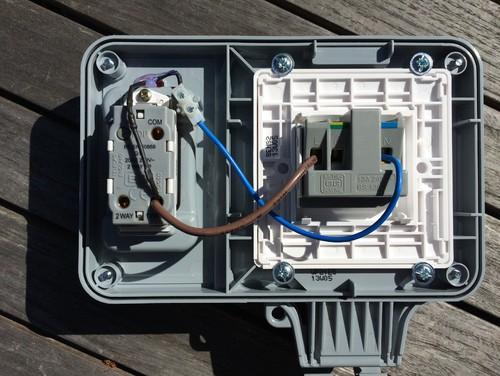 help wiring external socket rh houzz com wiring up an outdoor socket wiring outdoor sockets uk