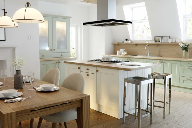 wren kitchens - country cream & country sage