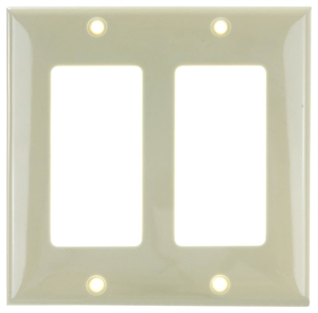 Sunlite E302 I 2 Gang Decorative Switch And Receptacle