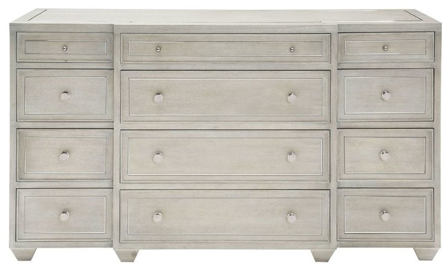 Bernhardt Criteria Dresser Heather Gray Finish