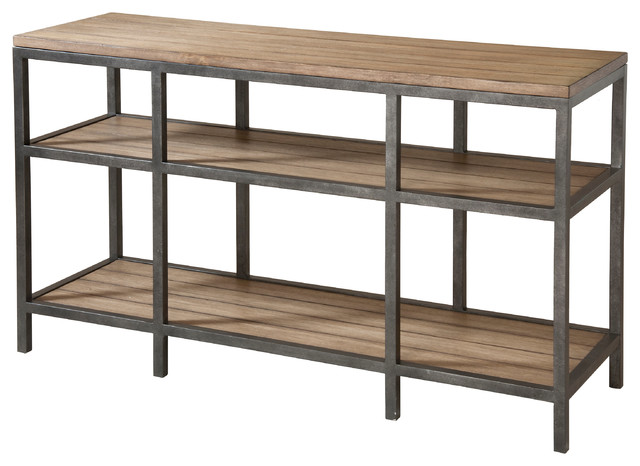 Stein World West Branch Sofa Table, Reclaimed Wood Finish 232 031    Contemporary   Console Tables   By GwG Outlet