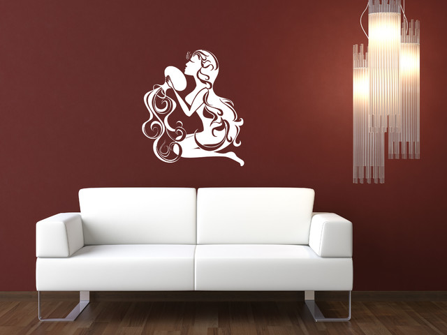 Aquarius Wall Decal Contemporary Wall Decals by Style and