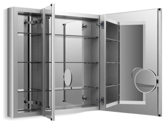 "Kohler Verdera 40"" W X 30"" H Medicine Cabinet w/ Adjustable Magnifying Mirror"
