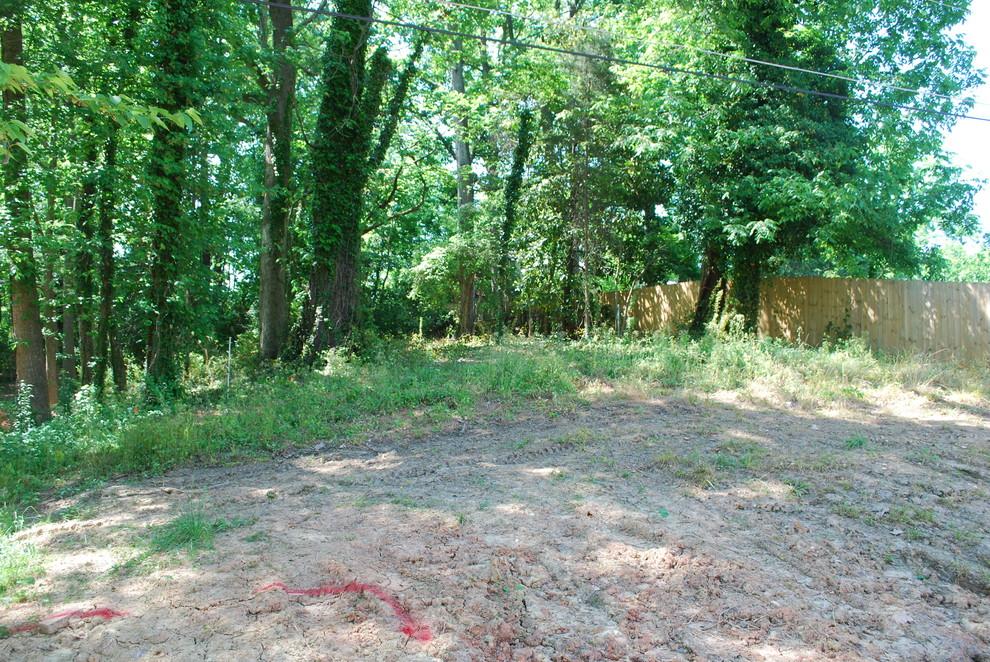 Noda, Charlotte, Infill Project, backyard space.