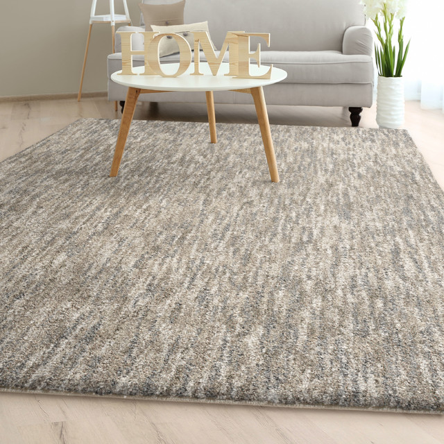 Orian Next Generation Solid Taupe Gray