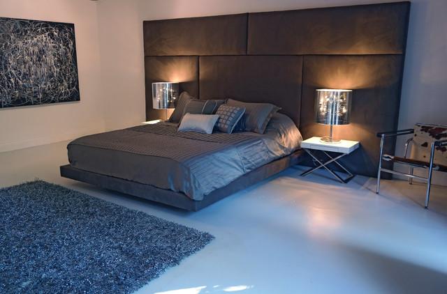 Decenni Panello Bed Modern Los Angeles By Decenni Custom Furniture