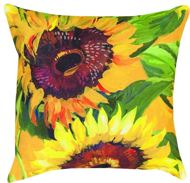 Sunflower Mco40 Ke Dtp Pillow Farmhouse Decorative Pillows Gorgeous Sunflower Decorative Pillows