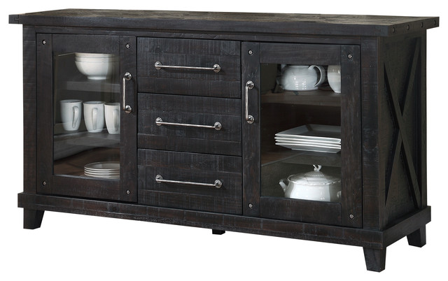 Yosemite solid wood sideboard rustic buffets and