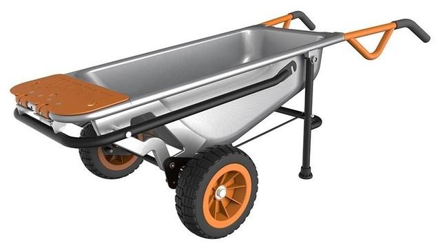 worx wg050 aerocart wheelbarrow dolly and cart